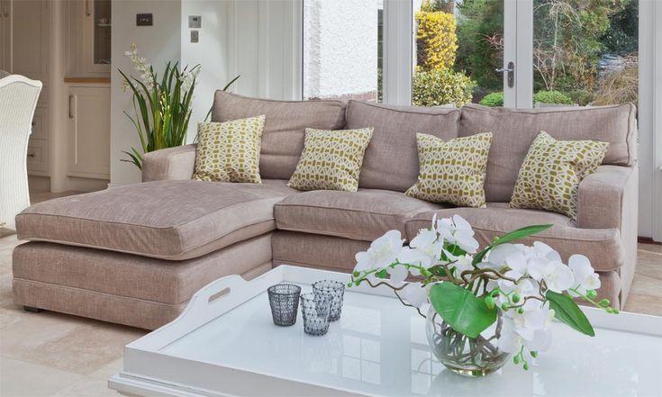 contemporary conservatory corner sofa.