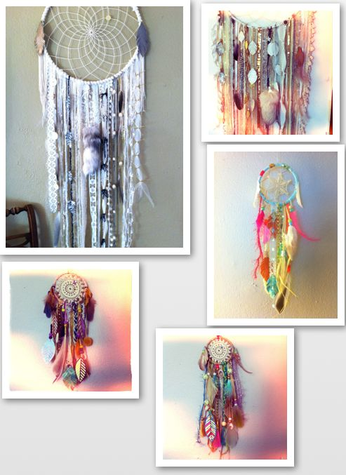 Dreamcatchers- used to make these all the time when i was younger with Ms. O