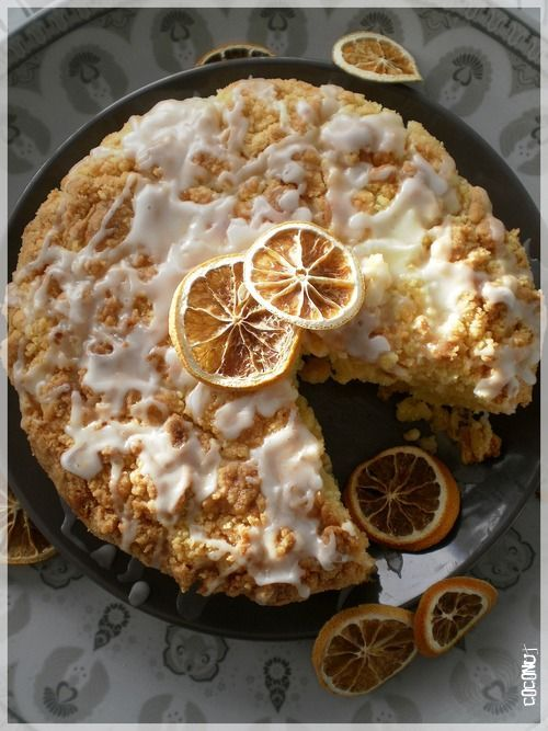 Meyer Lemon Coffee Cake | Brunches, Breads & Such | Pinterest