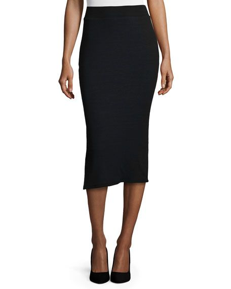 Long Black Pencil Skirt Sale - Dress Ala
