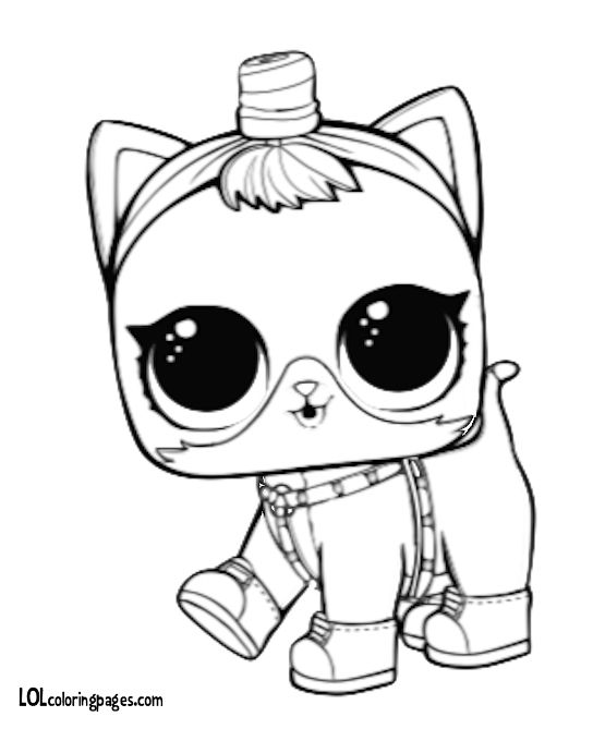 Queen Bee Lol Doll Coloring Pages