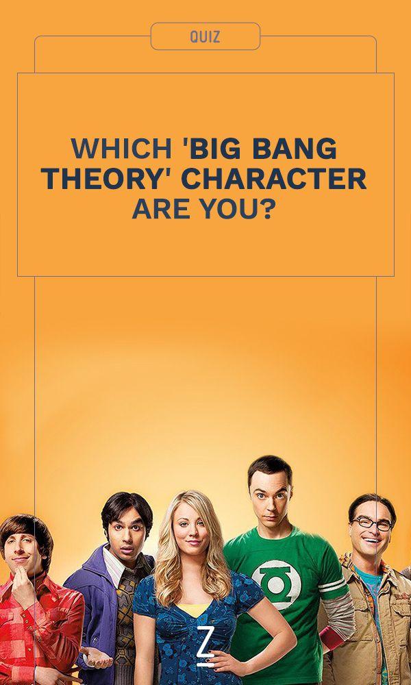 Take the Quiz: Which 'Big Bang Theory' character are you? BAZINGA!