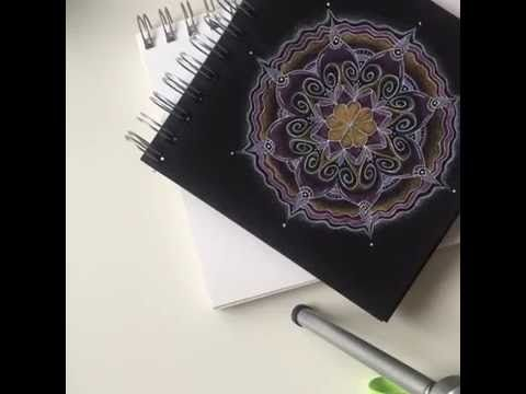 Mandala ontwerp - stap voor stap