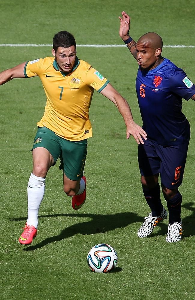 Mathew Leckie has been superb for the Socceroos at the World Cup