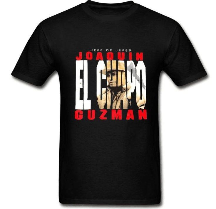 Jefe De Jefes T-Shirt Men's Women Joaquin El Chapo Guzman Sinaloa Cartel Narco Drug King T Shirt Funny Adults Tees All Sizes
