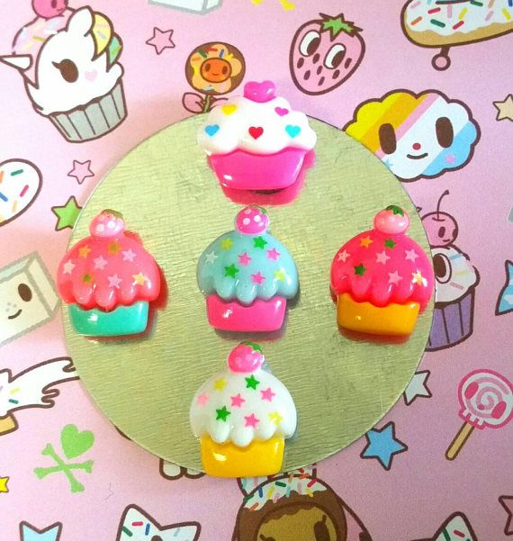Check out this item in my Etsy shop https://www.etsy.com/ca/listing/548230619/kawaii-cupcake-mini-magnets-set-of-5