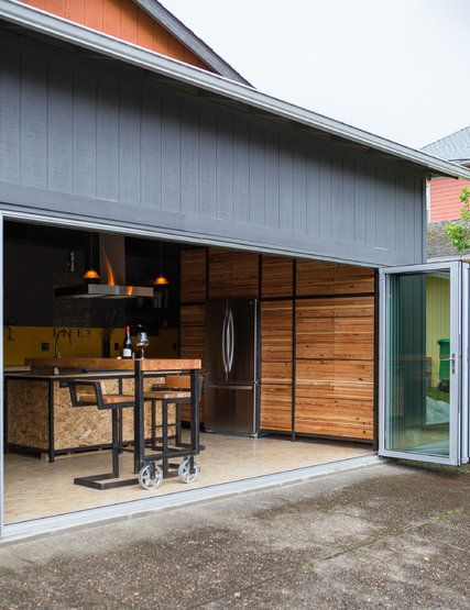 Granny flat garage and backyard house on pinterest for Garage with granny flat on top