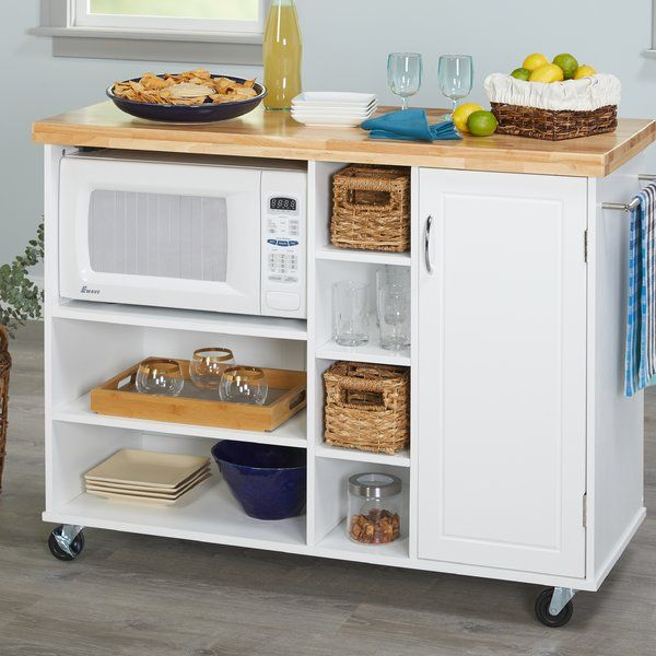 Drolet Kitchen Cart Solid Wood With
