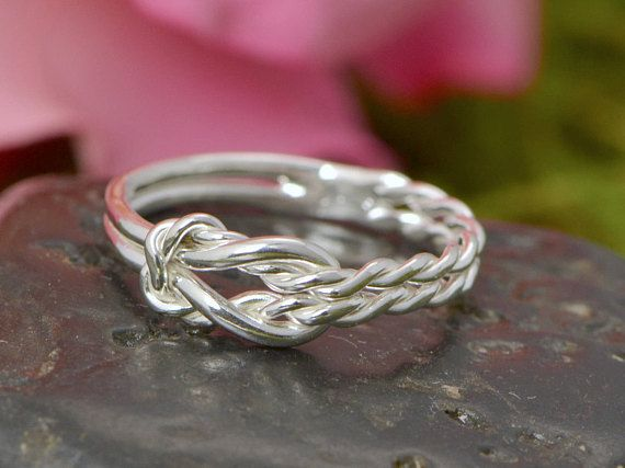 Infinity Knot Ring Infinity Knot Jewelry Infinity Ring Love
