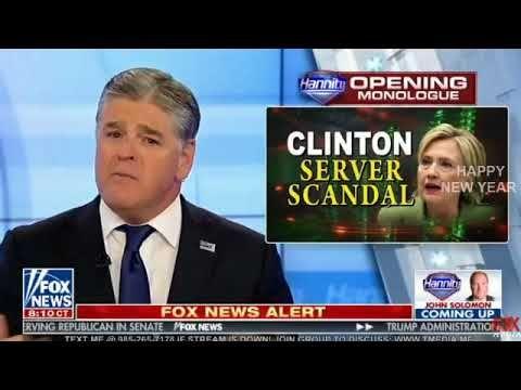 Sean Hannity 1/2/18 - Hannity Fox News Today January 2 2018