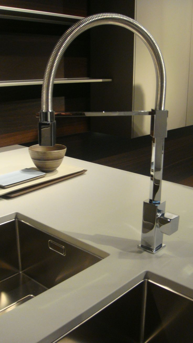 Piano #cucina in #Lapitec Bianco Crema by Snaidero