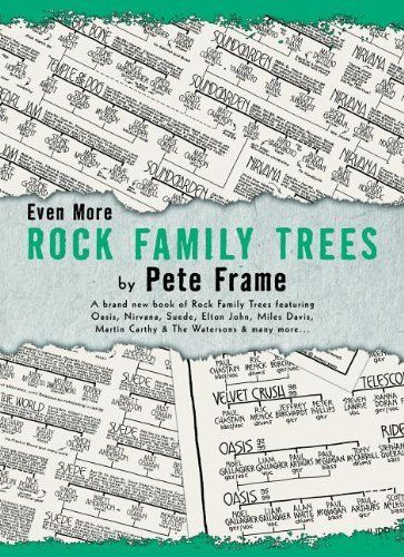 Even More Rock Family Trees by Pete Frame. Save 24 Off!. $21.24. Publisher: Omnibus Press (April 1, 2012). Publication: April 1, 2012