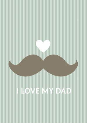 Een leuke en hippe kaart met snor voor Vaderdag! Te vinden op: https://www.kaartje2go.nl/vaderdag-kaarten/snor-vaderdag