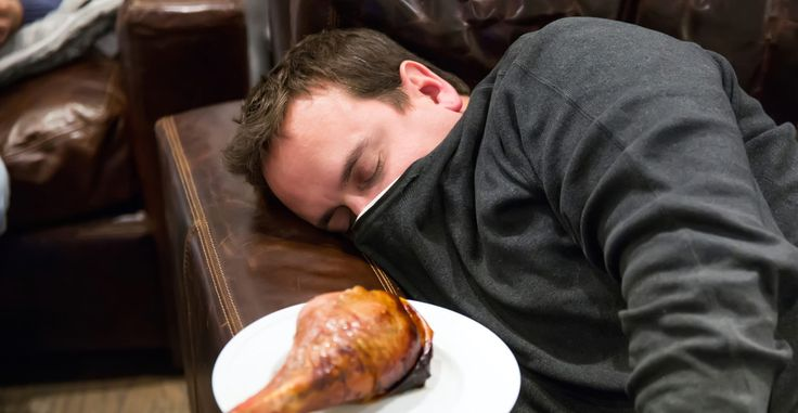 Why You're So Tired After Eating a Big Meal