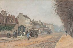 Alfred Sisley - Boulevard Héloïse, Argenteuil - 1872 - Painting