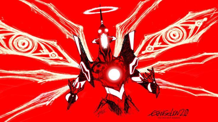 Evangelion Unit 01 crazy red 2 by Epsthian-Artist.deviantart.com on @deviantART