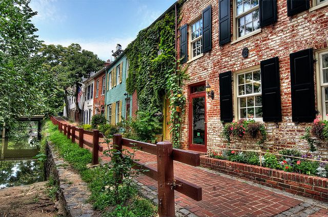 Historic Georgetown, Washington DC