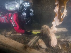 Franklin expedition underwater inspection