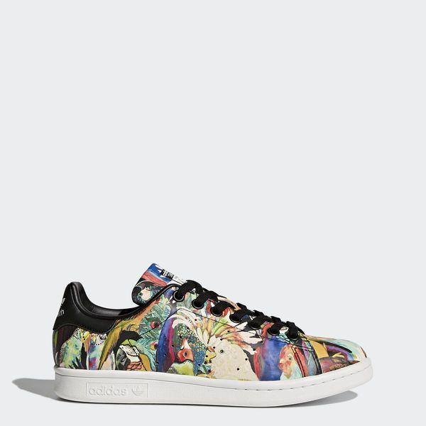 Stan Smith Shoes Core Black / Core Black / Running White BZ0412