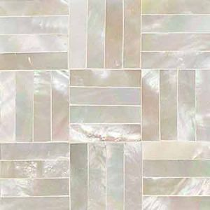 Mother of Pearl Kitchen Backsplash...too pretty for a kitchen my bathroom? Yes