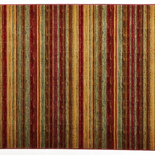 Splendid Mood Designer Rug - Stripe - 330 x 240cm - Red 7% OFF | $699.00 - Milan Direct
