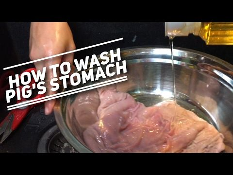 How To Clean, Prepare, And Cook Chitterlings & Hog Maws| Soul Food Chitlins Recipe - YouTube