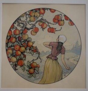 Vrouw Holle, de Efteling - Anton Pieck