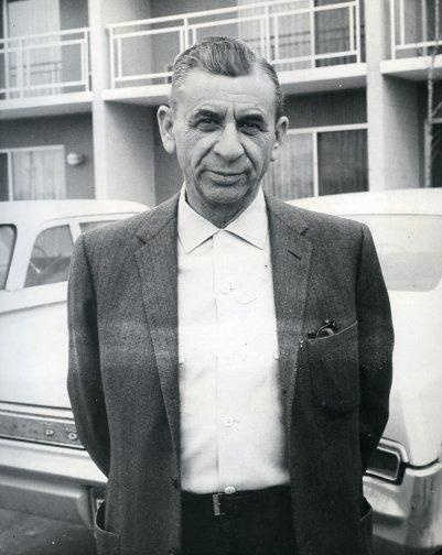 "Hyman Roth = Meyer Lansky (born Meier Suchowlański; (July 4, 1902 – January 15, 1983), known as the ""Mob's Accountant"", was a major organized crime figure who, along with his associate Charles ""Lucky"" Luciano, was instrumental in the development of the ""National Crime Syndicate"" in the United States"