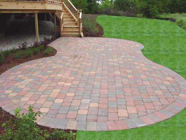 Cheap Brick Paver Patio Ideas F19x On Perfect Decorating Home