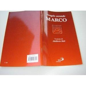 The Gospel of Mark in Italian Langauge / Vangelo secondo Marco - Versione di Adalberto Sisti $9.99