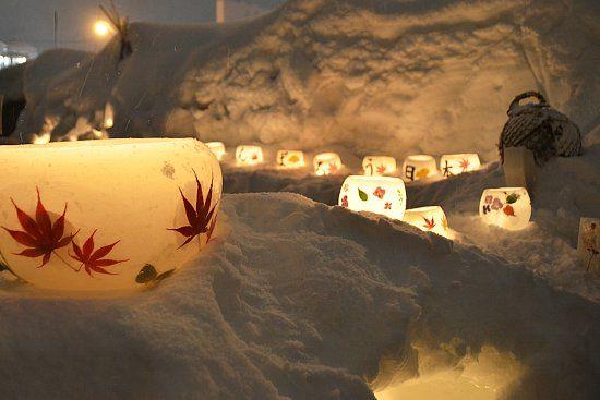 Snow Light Path Festival,Otaru, Hokkaido