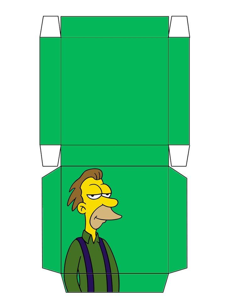 142 besten Simpsons Bilder auf Pinterest | Die simpsons, Schachteln ...