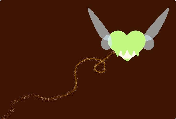 Disney Hearts TinkerBell by smallrinilady.deviantart.com