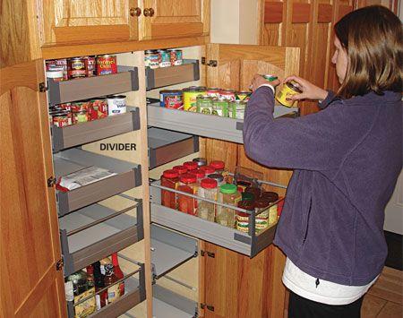 kitchen storage cabinet rollouts storage cabinets
