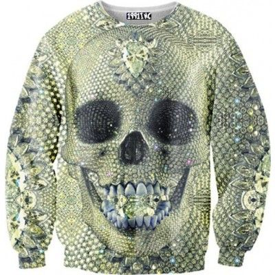 Diamond Skull Sweater. So awesome it's amazing