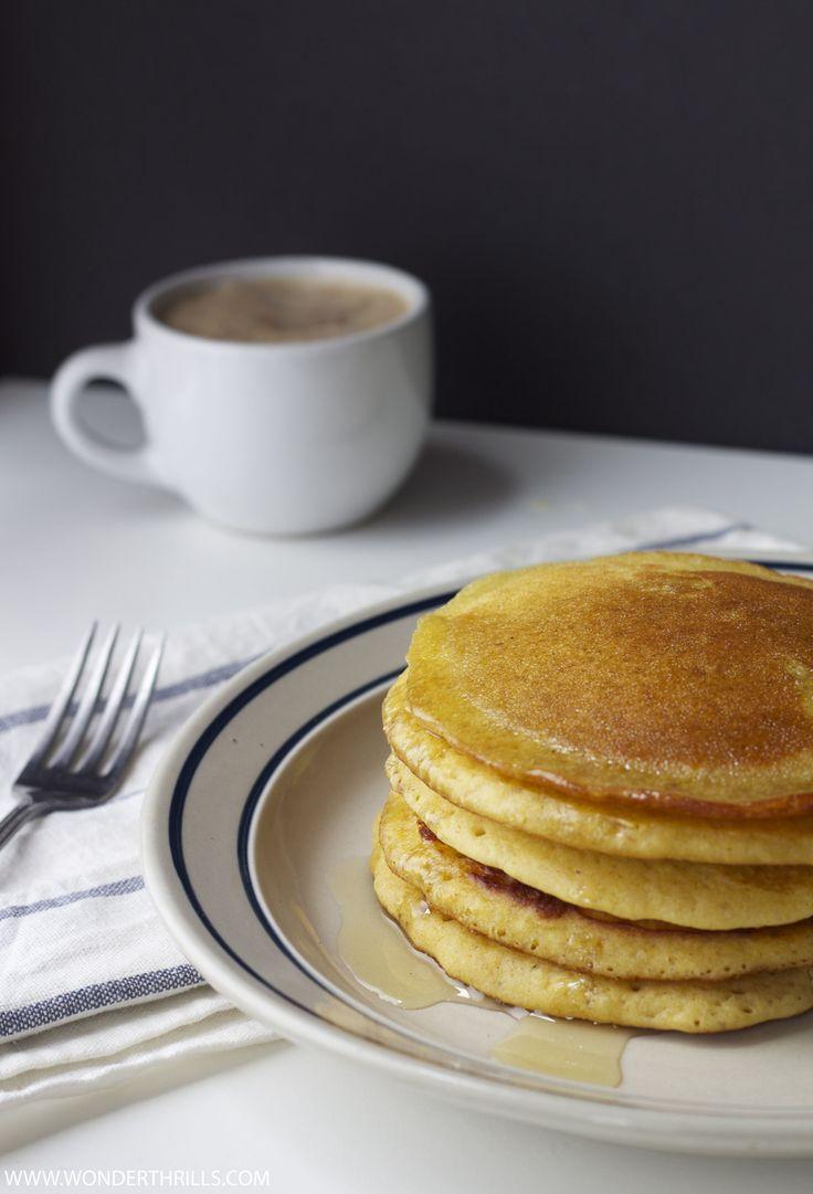 Spiced Chai Pancakes