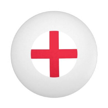 Special ping pong ball with Flag of England  $2.45  by AllFlags  - cyo customize personalize diy idea