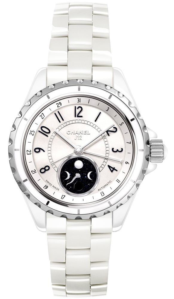 23e16466b6a0b Chanel Ceramic Automatic 38mm Watch H3404 J12. Chanel Ladies Watches. 100%  Authenticity Guaranteed Watches!