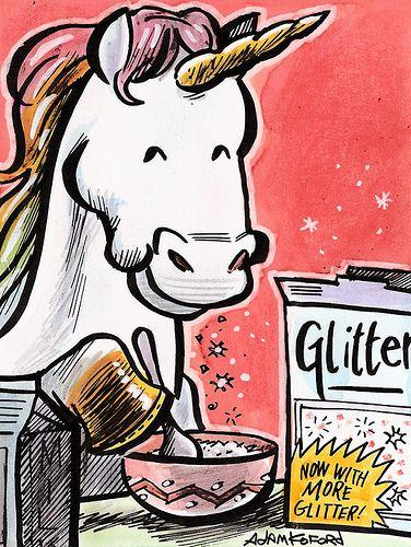 never enough glitter.....