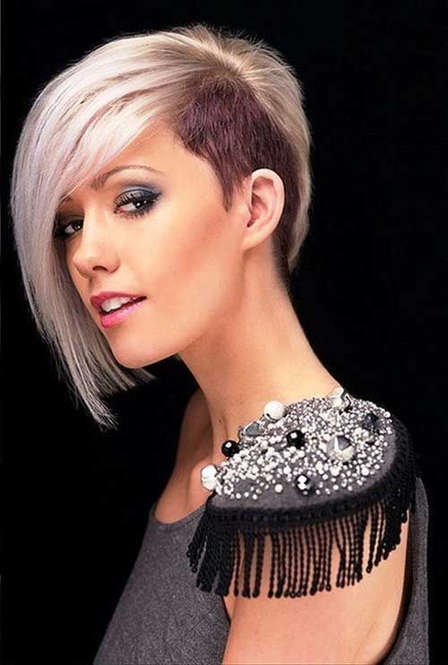 Admirable 1000 Ideas About Shaved Side Hairstyles On Pinterest Side Short Hairstyles For Black Women Fulllsitofus