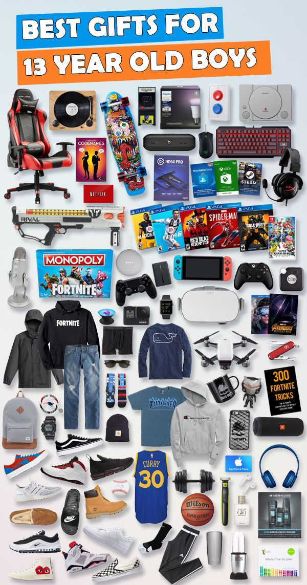 Top Gifts For 13 Year Old Boys Updated List Teen