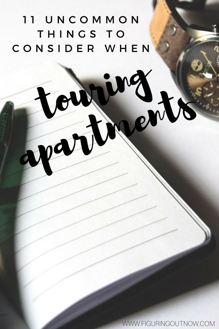 Adulting is hard enough without living in a dump? I give a list of things to make sure you check for doing your tour so you don't regret your decision later.