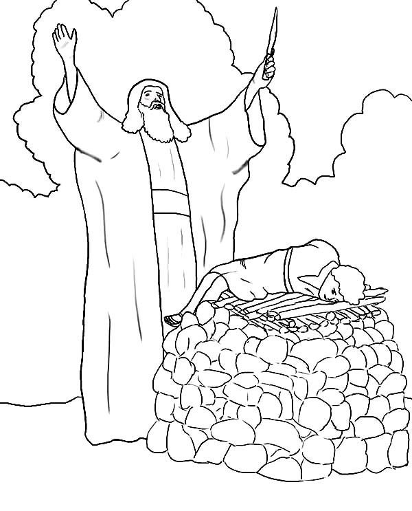 Abraham And The Lord Color Page Abraham Bible Drawing At Getdrawings Free For Personal Use Free Bible Drawing Monster Truck Coloring Pages Coloring Pages
