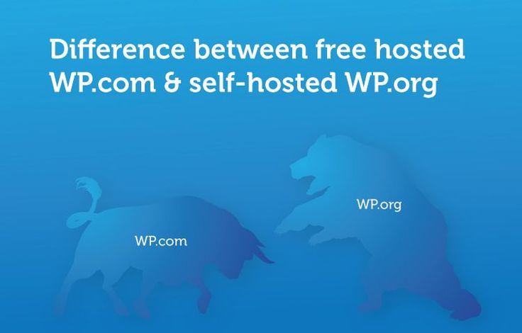 Free hosted WordPress.com and self-hosted WordPress.org look same, but it is different from each other. Let's find out what are they.