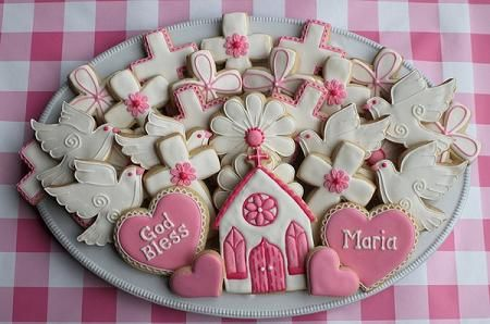 requerdos de communion | Galletas decoradas para Comunión