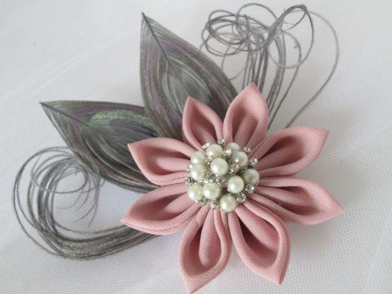 Blush Pink Hair Flower Or Brooch Bridal Wedding: Best 25+ Blush Silver Wedding Ideas On Pinterest