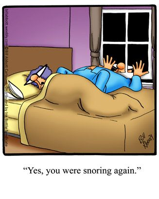 This is one method you can try to treat snoring!