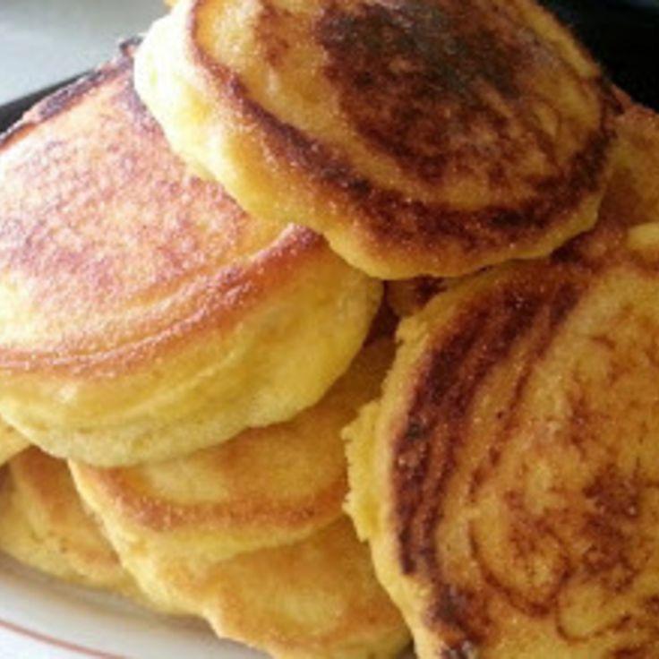 Fried Corn Bread (Corn Bread Mini Pancakes) Recipe | Just A Pinch Recipes