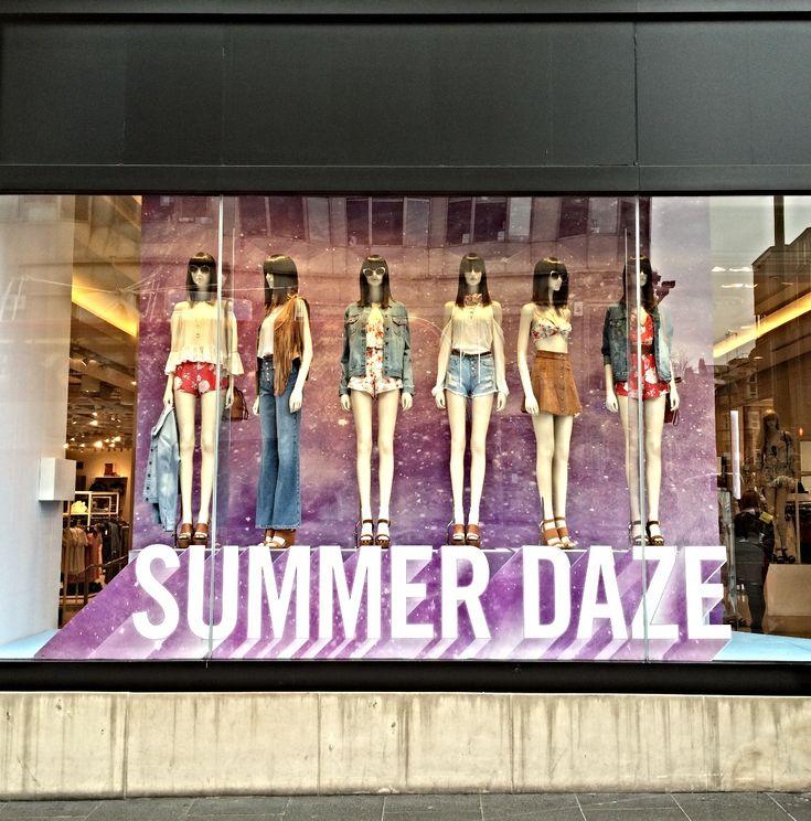 CCLR x Forever 21 Summer Daze Window Display