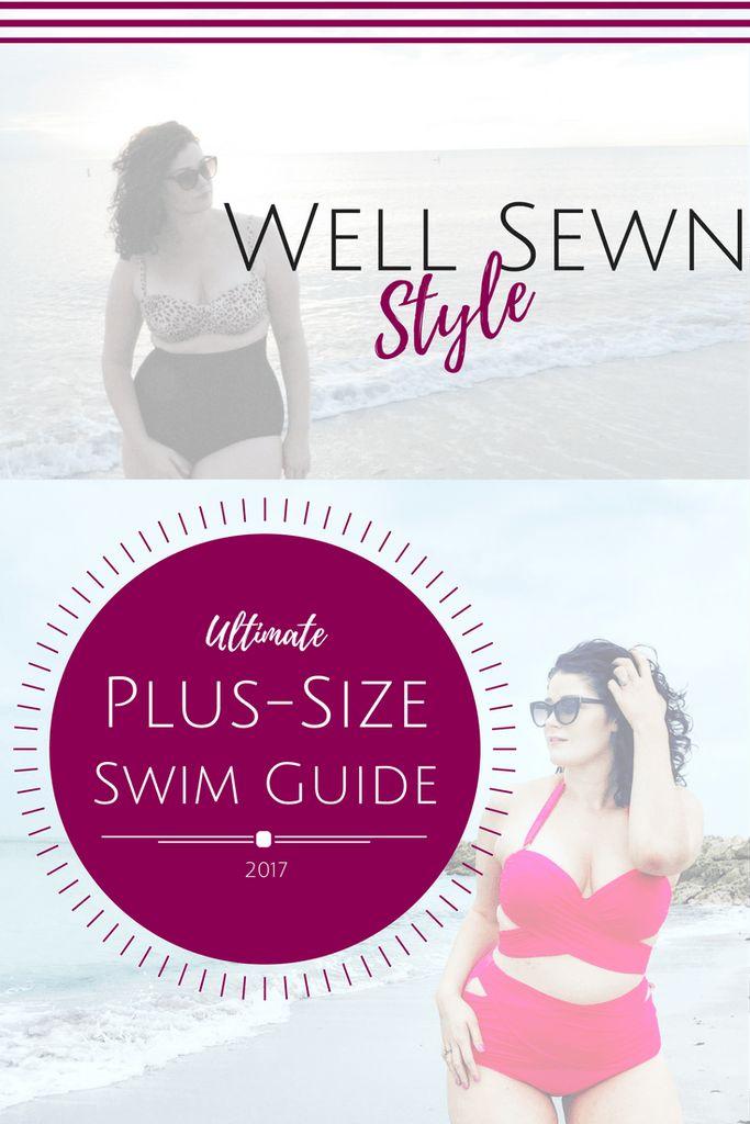 Well Sewn Style Ultimate Plus-Size Swimwear Guide 2017